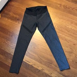 Zella leggings cropped grayish black xs